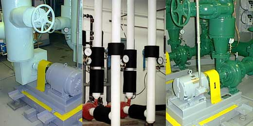 CHILLED/HOT WATER PUMPS - Chism Commercial HVAC/Refrigeration Inc.